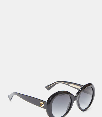 Oval Frame GG0139S Sunglasses