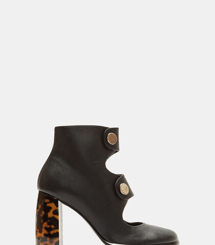 Alter Nappa Buttoned Ankle Boots