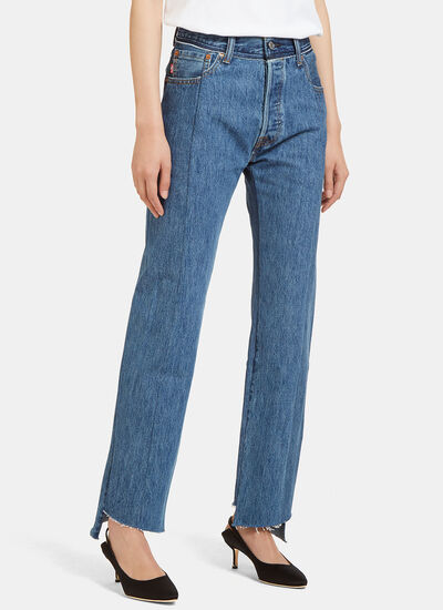 Levi's Reworked High-Waisted Jeans