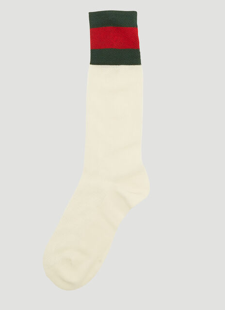 Striped Web Tennis Socks