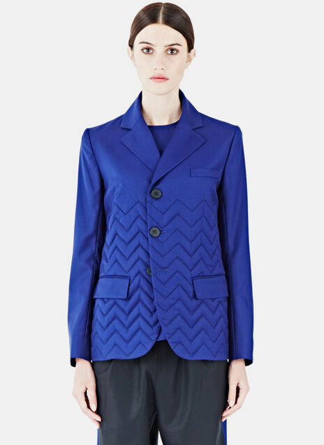Gil Zigzag Quilted Jacket