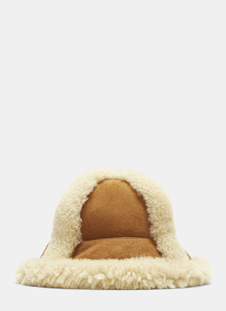 Bel Shearling Bucket Hat