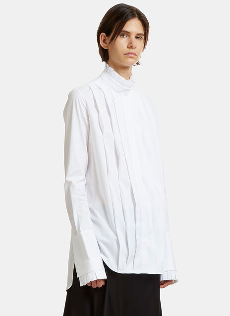 Angelus Front Pleat Shirt