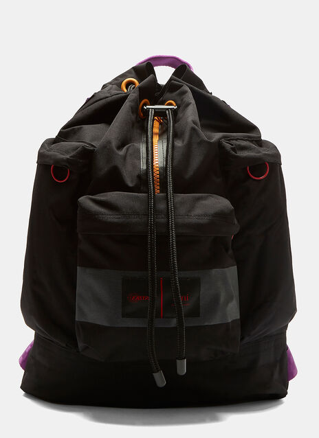X Eastpak Drawstring Backpack