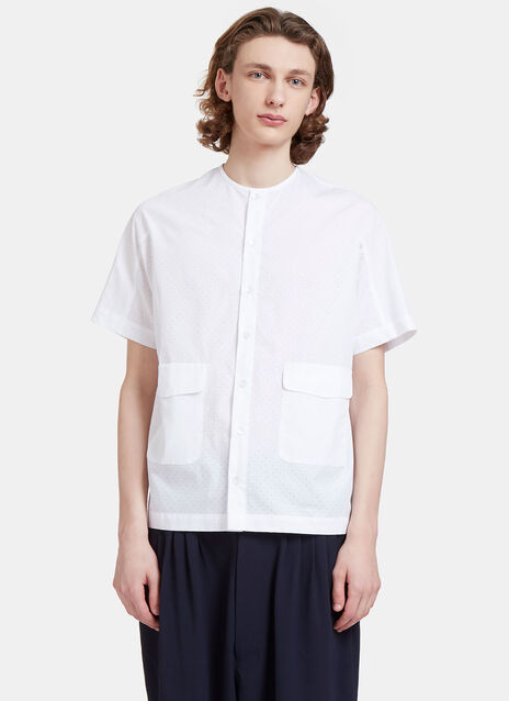Altmann Perforated Short Sleeved Shirt