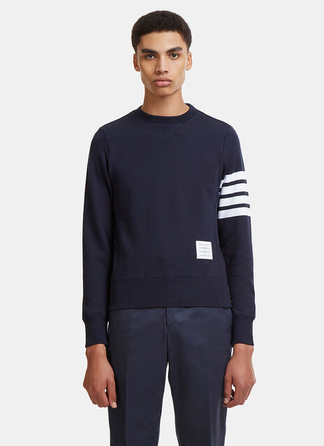 4 Bar Crew Neck Sweater