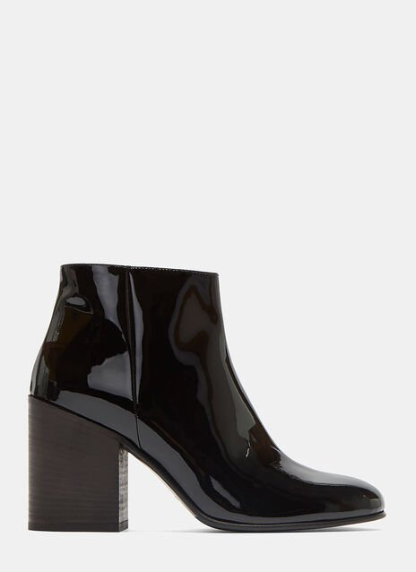 Beth Patent Ankle Boots