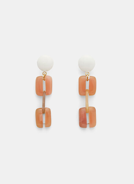 Marni Resin Clip Earrings