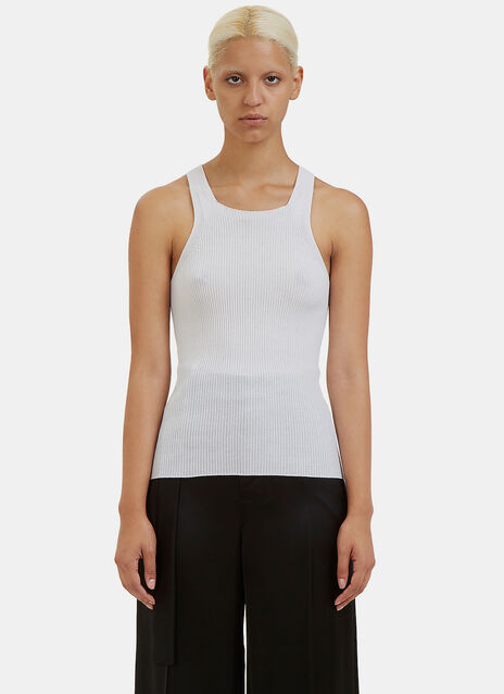 Brando Ribbed Knit Vest Top