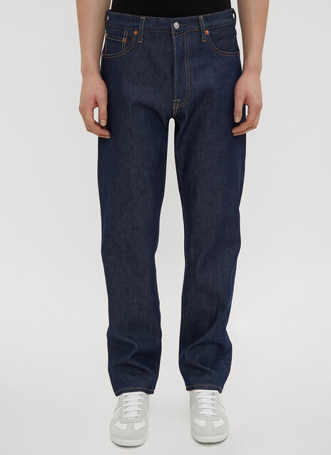 아크네 스튜디오 Acne Studios Rigid Straight Leg Jeans in Blue