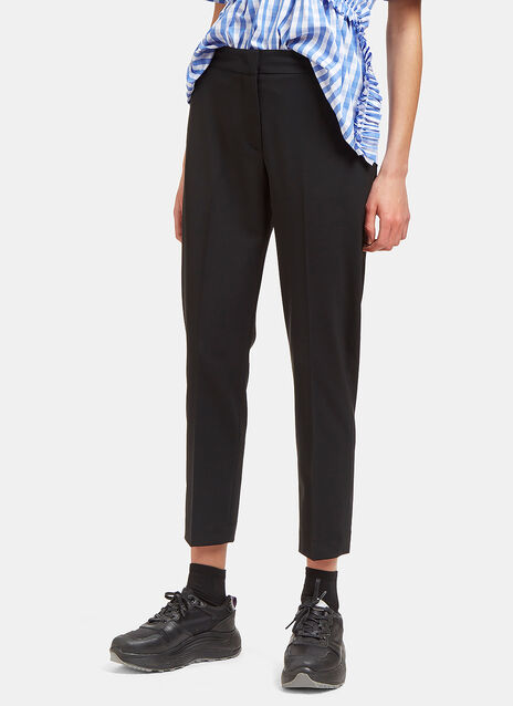 Slim Cropped Tailored Pants