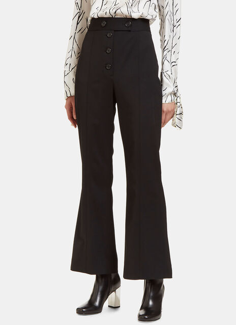 High-Waisted Flared Pants