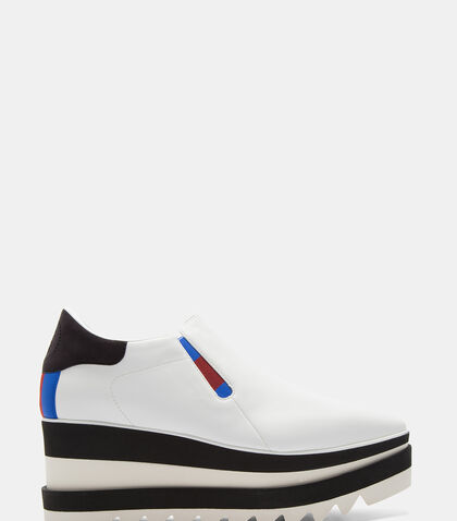 Elyse Striped Platform Slip-On Sneakers