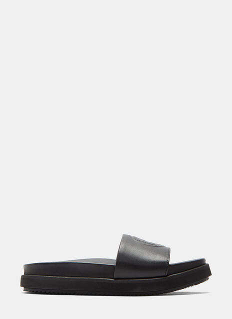 Hacienda Leather Slide Sandals