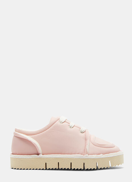 Padded Flat-Form Sneakers