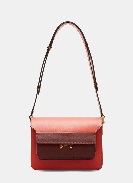 Two-Tone Mini Trunk Bag
