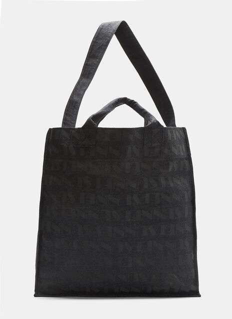 Large Raw Denim Tote Bag