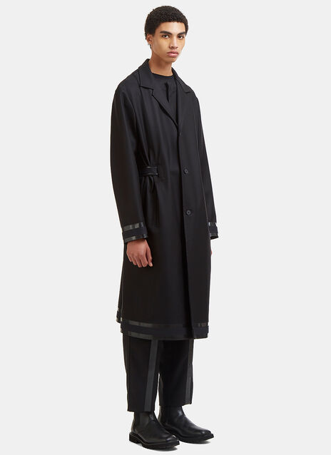 Zeelander Three Layer Twill Trench Coat