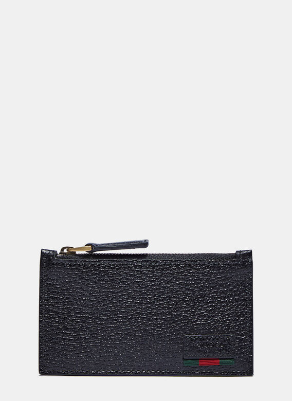 Gucci Leather Basic Wallet