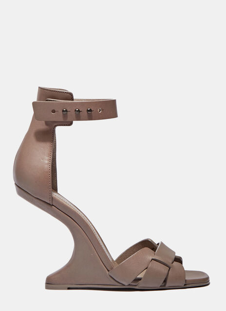 Cyclops Cantilevered Heeled Sandals