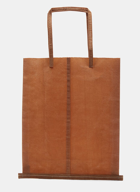 J Waxed Canvas Bag