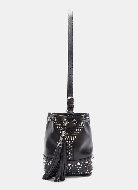 Studded Pearl Bucket Bag