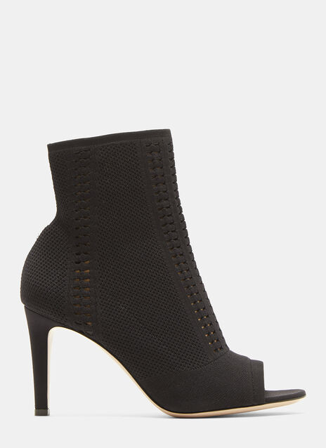 Gianvito Rossi Vires 85 Knitted Boots