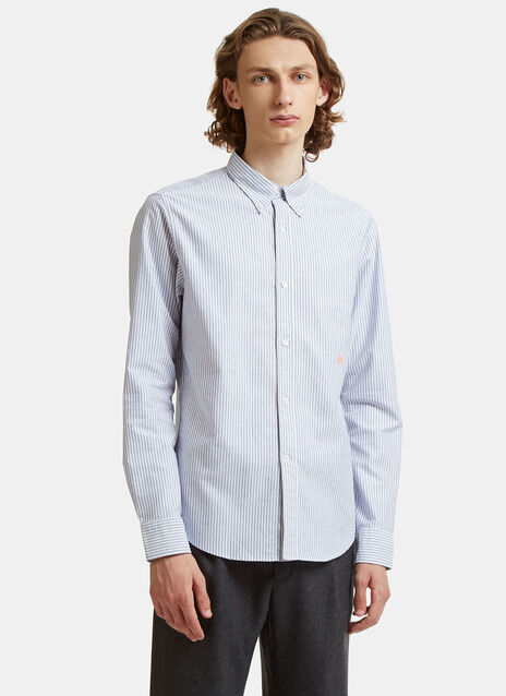 Ohio Face Striped Oxford Shirt