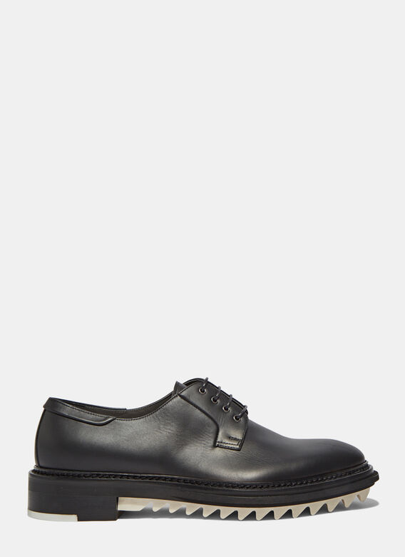 Lanvin Chunky Leather Derby Shoes