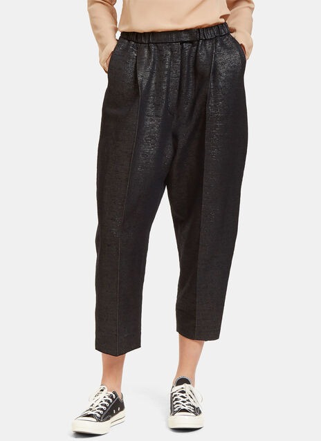 Oversized Tactile Woven Pants