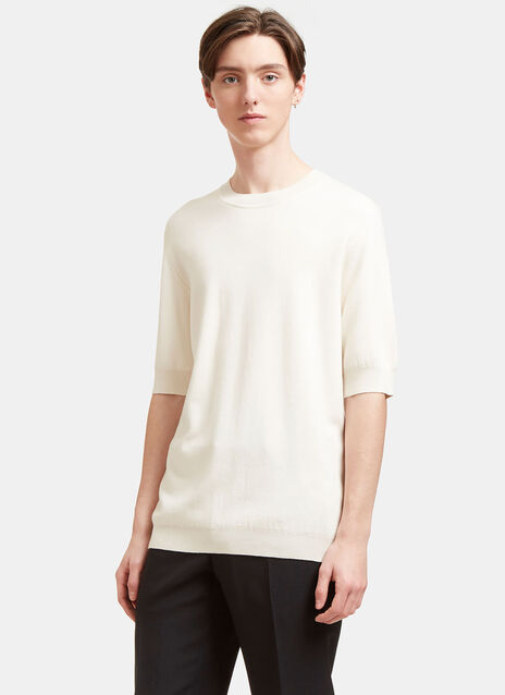 AIEZEN Cashmere and Silk Fine T-shirt