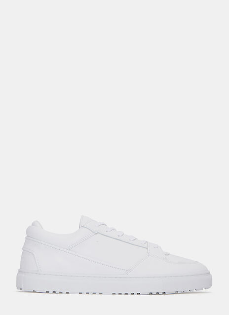 Low 3 Grained Sneakers