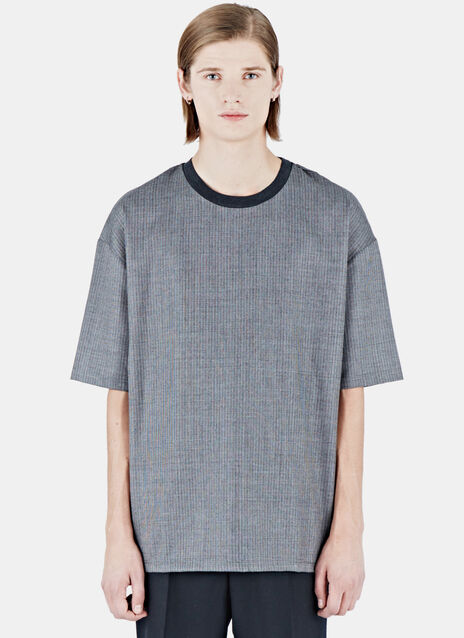 Lanvin Patterned Oversized Dropped Sleeve Top