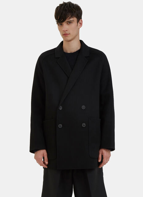 Martin Oversized Double-Breasted Wool Coat