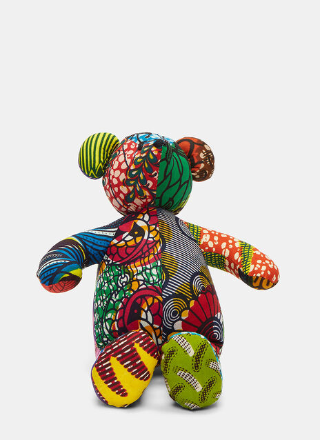 African Pattern Teddy 9