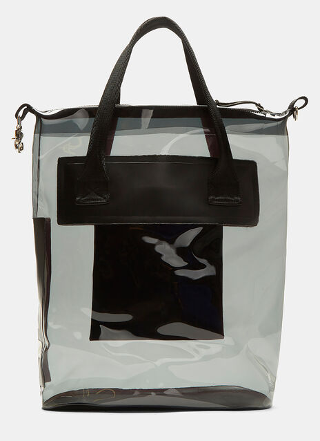 Void Transparent Waterproof Tote Bag