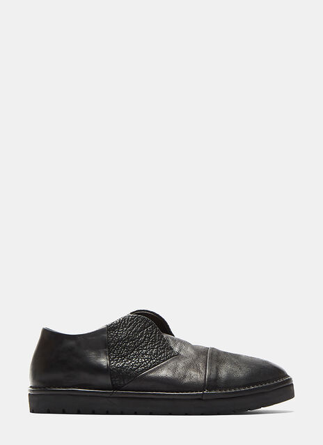 Sancrispa Alta Slip-On Leather Loafers