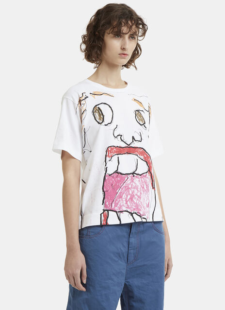 Marni Portrait Printed T-Shirt