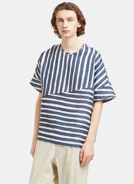Collection Oversized Stripe T-Shirt