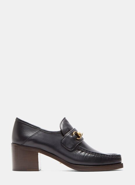 Vegas Heeled Horsebit Loafers