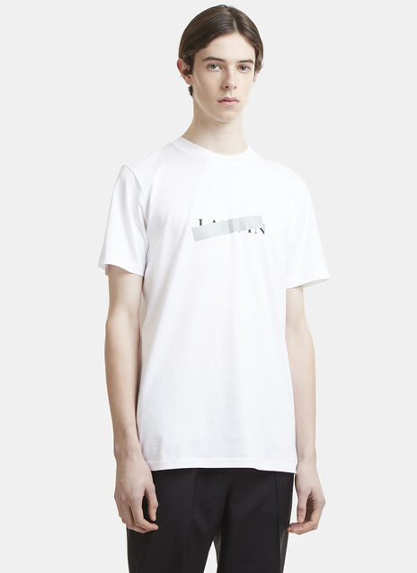 Lanvin 3M Taped Logo T-Shirt
