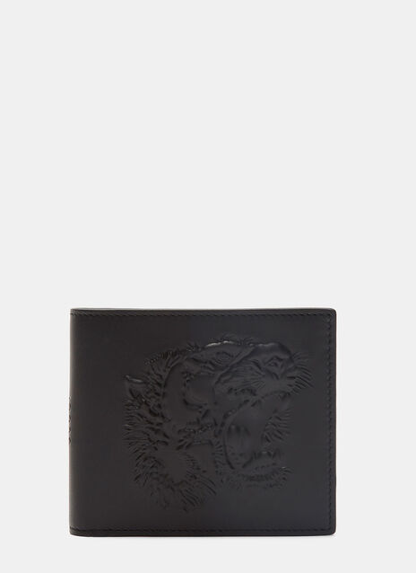 Tiger Embossed Bi Fold Wallet