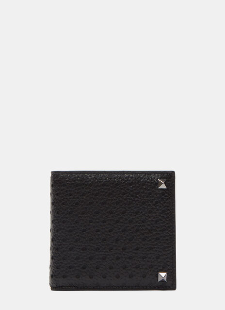 Perforated Stud Fold Wallet