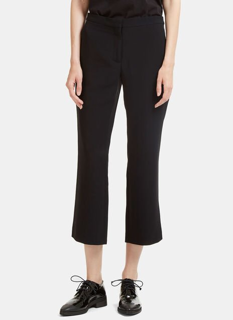 Nettle Cropped Flared Pants