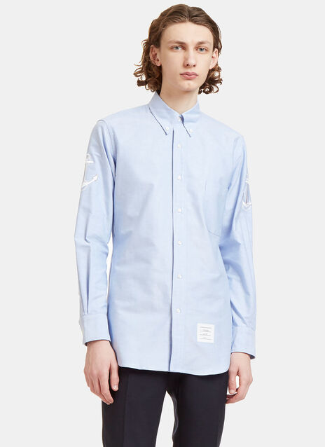 Anchor Embroidered Oxford Shirt
