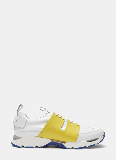 Contrast Eyestay Low-Top Sneakers