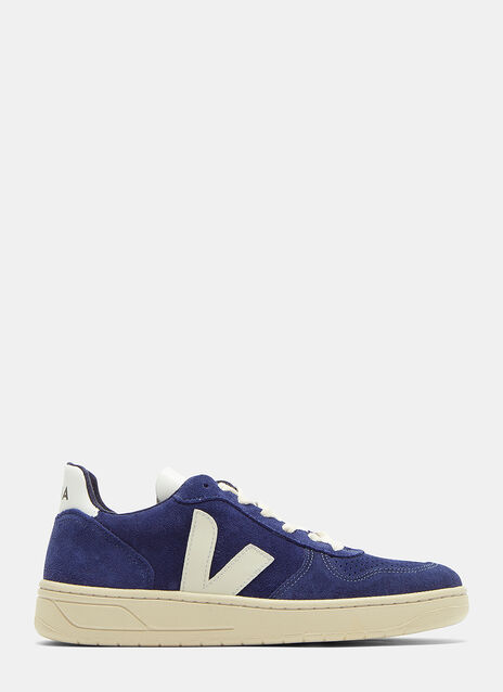 V10 Suede Low-Top Sneakers
