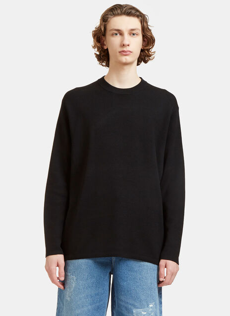 Kicha Zipped Crew Neck Sweater