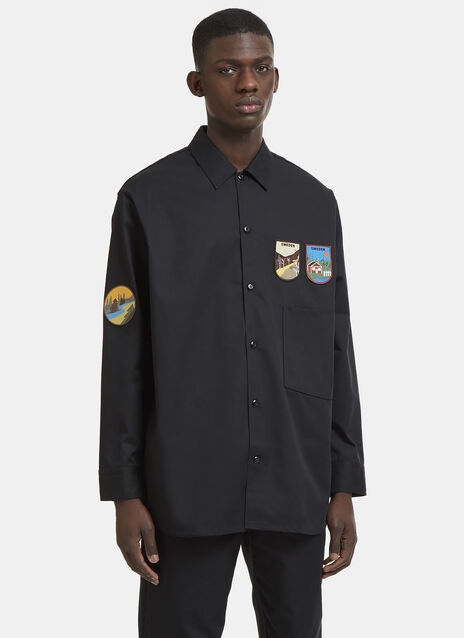 Lowis Patch Cargo Shirt