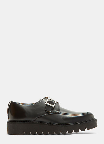 Odette Buckled Platform Brogue Shoes